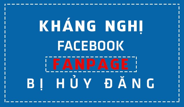 Link kháng facebook cập nhật mới nhất 2020